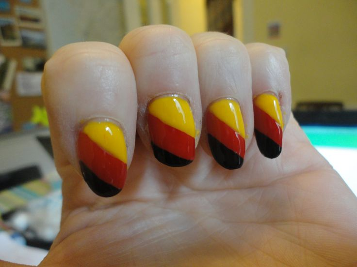 nails german flag   ... Nails Fashion Nails – German Nail Art und Deutschland Nails und mehr