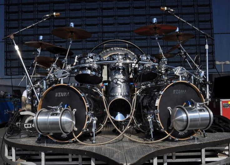 Frank Beard's new ZZ Top kit from Tama