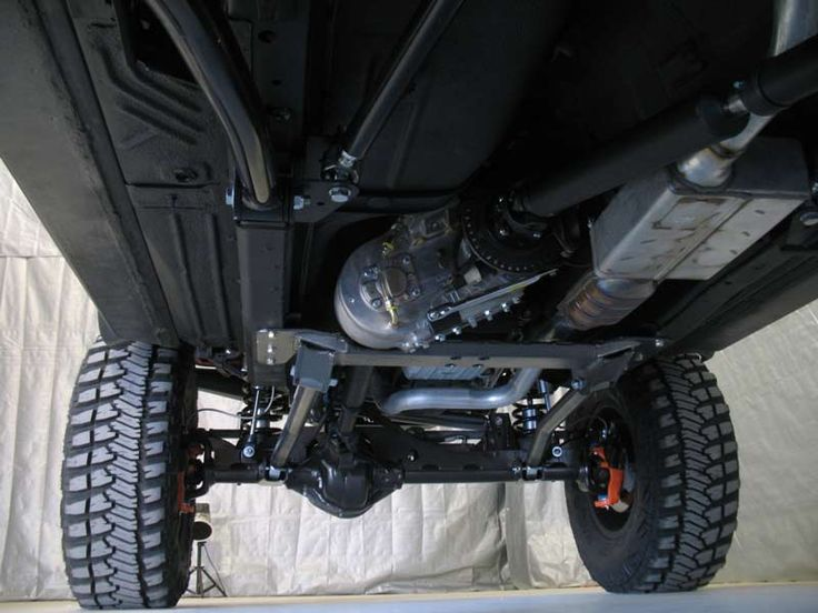 OR-FAB/Trail Master Jeep XJ Underbelly