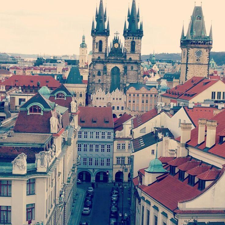 Prague.  Church of Lady Týn.