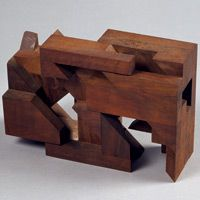 Willem Boshoff Sculpture http://www.willemboshoff.com/documents/artworks/wooden_shifts.htm