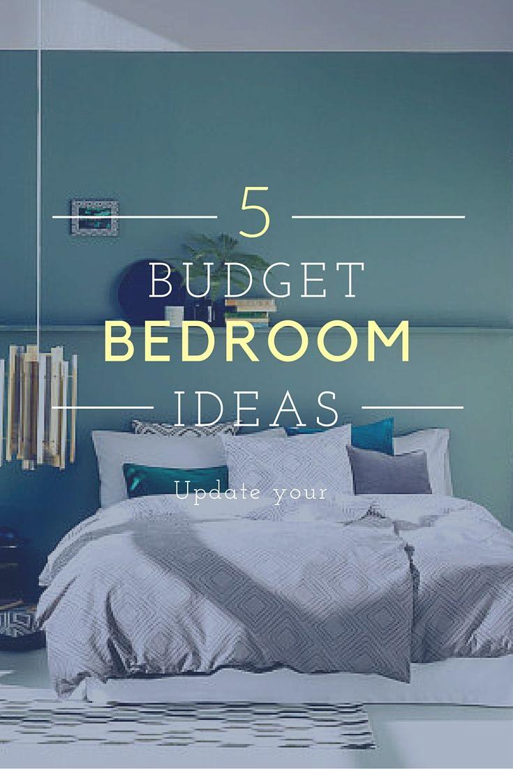 Budget Bedroom Makeover Ideas.