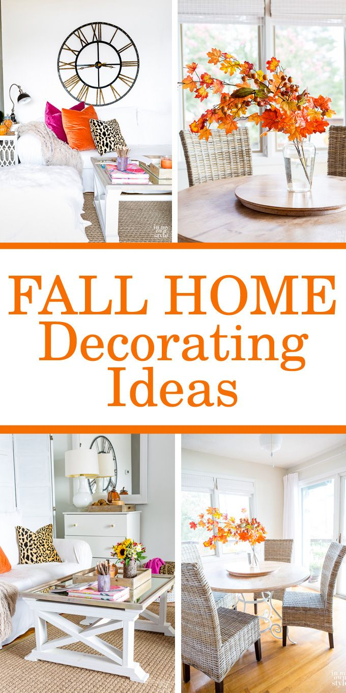 Fall decorating on a budget - Autumn Decorating Inspiration Eclectically Fall Home Tour