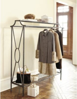 11 best images about bedroom clothes valet on pinterest for Rack design for bedroom