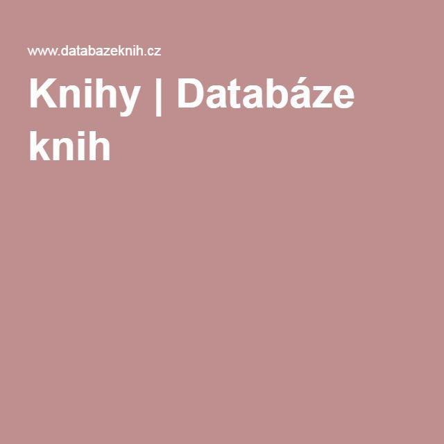 Knihy | Databáze knih