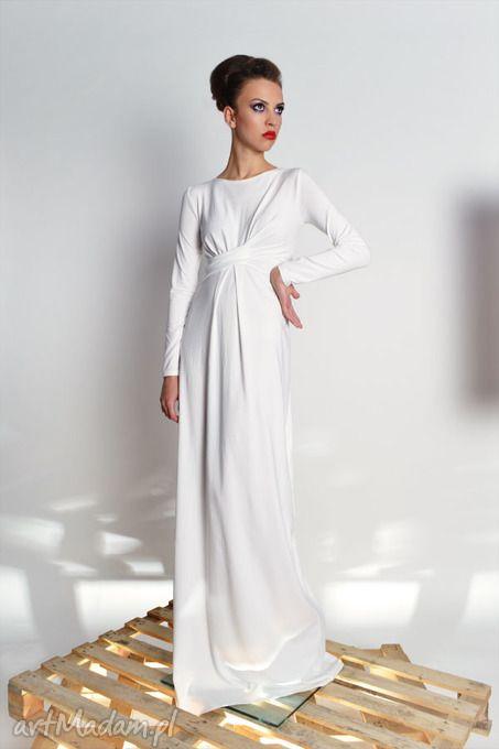 Cristina Maxi - Vanilla - długa suknia (KOLORY) rozm 34-40. $174