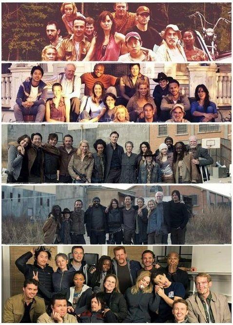 The Walking Dead Seasons 1-5