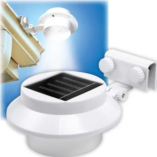 Solar Gutter Light - Buy One, Get One FREE! | Outdoor Lighting | Outdoor Home Care | www.qcidirect.com