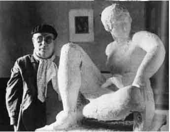 Es un luxe tenir un escultor tan bo com el Sr  Manolo Hugué. Crec que es parla poc. Era company de Picasso.