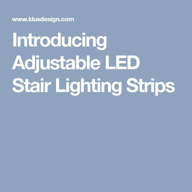 Best 25 Led Stair Lights Ideas On Pinterest Led