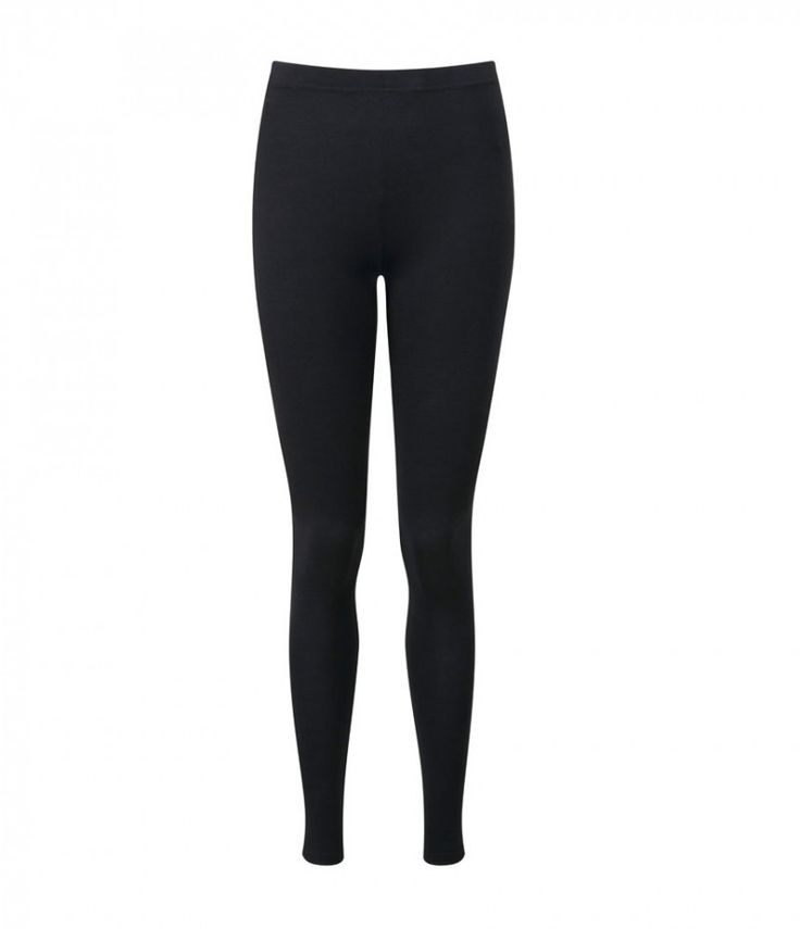 BWD Basics BWD Basics 'The Legging' In Black: Black stretch cotton and modal-blend leggings. Elasticated waist, mid-rise and simply pull on. Precisely cut for a second-skin fit, our stretch-cotton, longer-length leggings have an elasticated waistband and a higher rise. They ensure total coverage and are ideal for everyday wear.