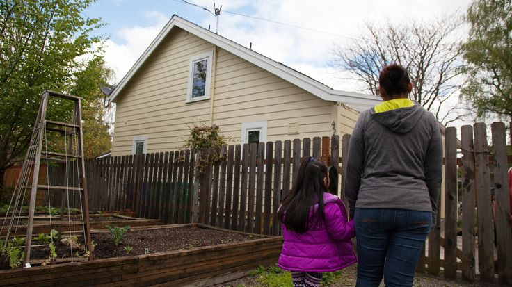 As rents rise, Portland is making it easier for homeowners to build small houses in their backyard and enable people who would be priced out to stay.