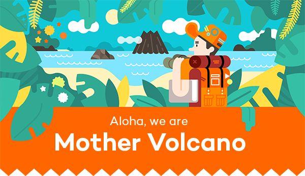 MV Self Presentation by Mother Volcano, via Behance
