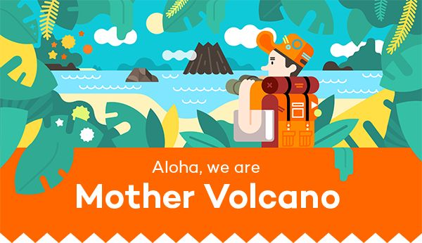 MV Self Presentation by Mother Volcano, via Behance