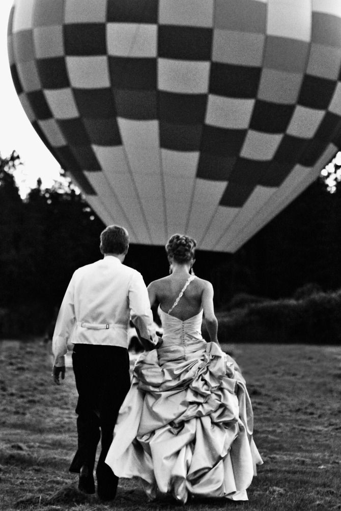 Hot Air Balloon Wedding (we did the flowers, not the hot air balloon) Weddings - Imagery by Jordan
