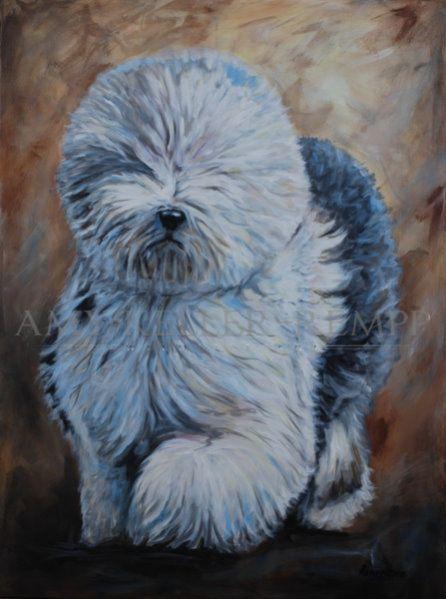 Iggy - Acrylic on Canvas.