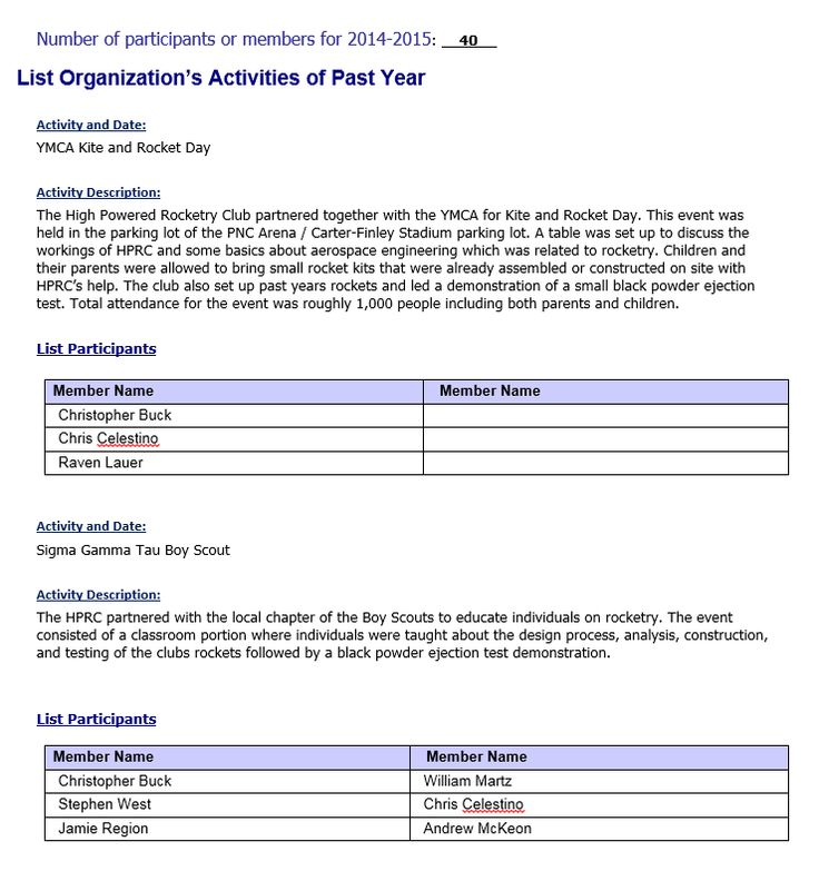 7 best Student Club Organization Annual reports images on - house cleaner resume sample