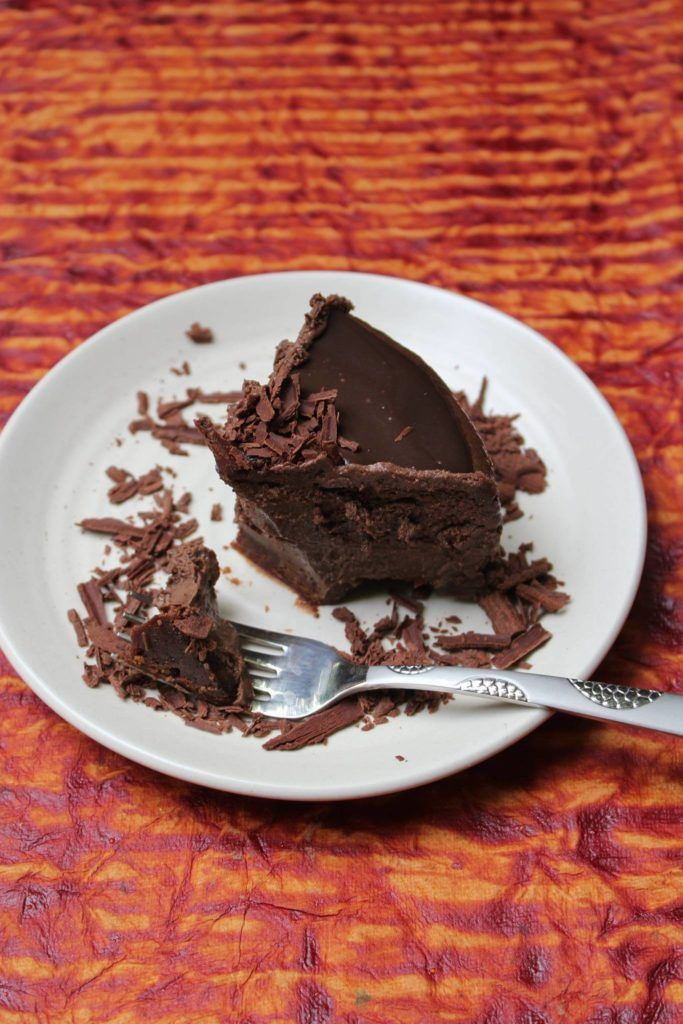 This Easy Baked Chocolate Cheesecake is a chocolate lover's delight! The texture is silky smooth and the chocolate flavor is rich and deep.