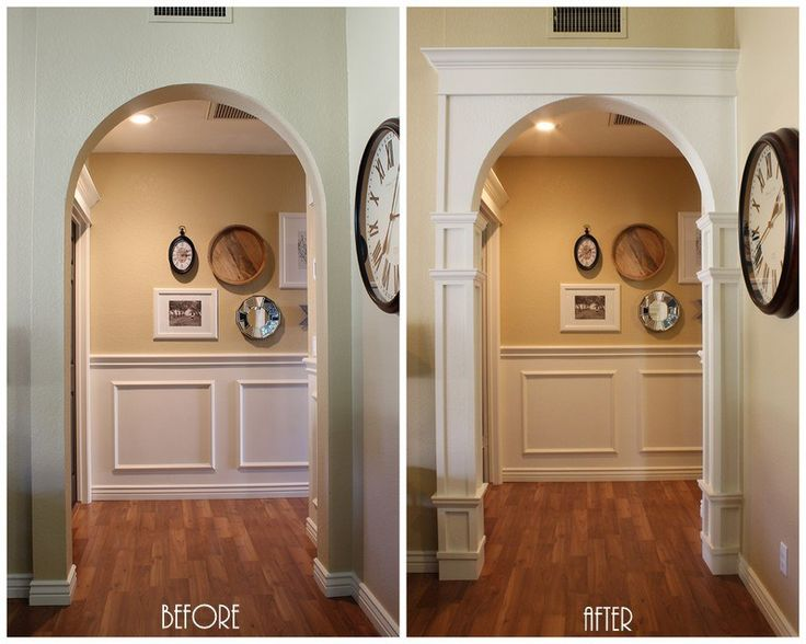 Best 25 archway decor ideas on pinterest wedding altar for Decorative archway mouldings