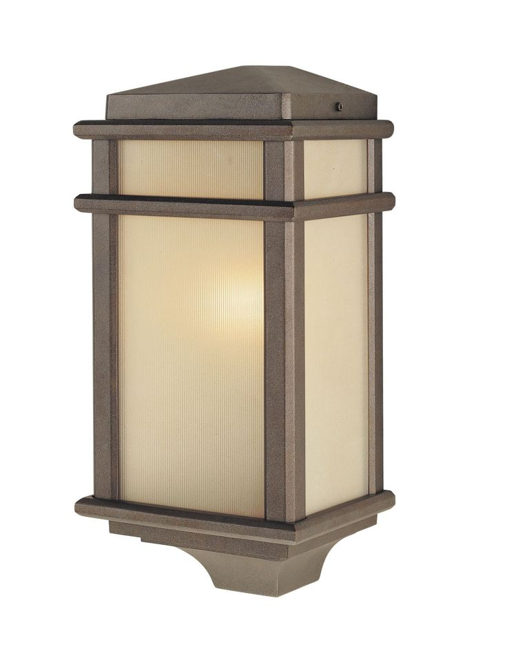 Mission Lodge 1 Light Outdoor Flush Mount