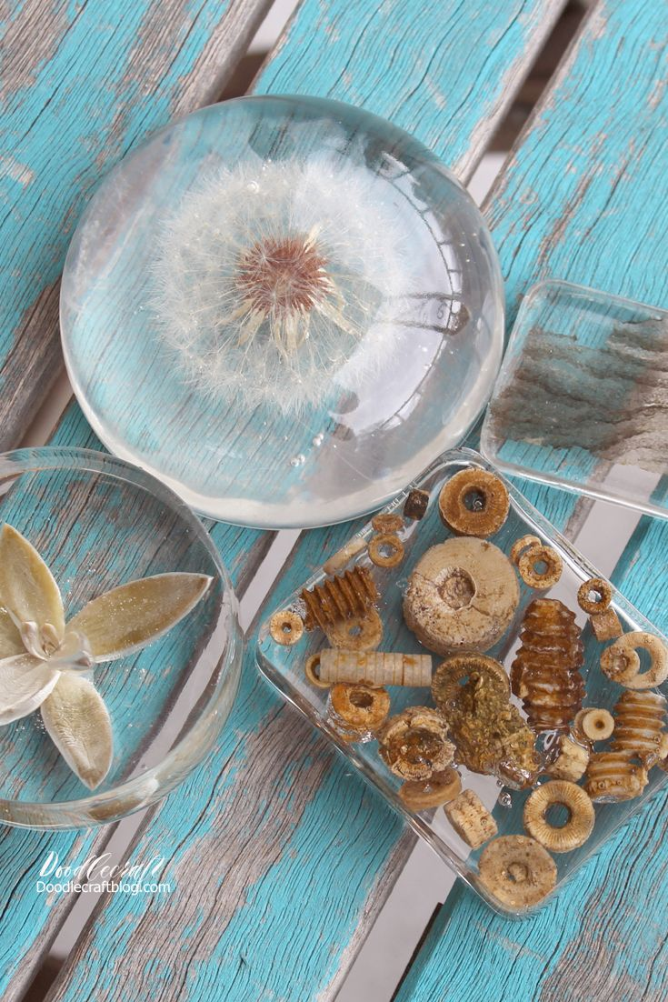 Diy Clear Casting Resin Paperweights
