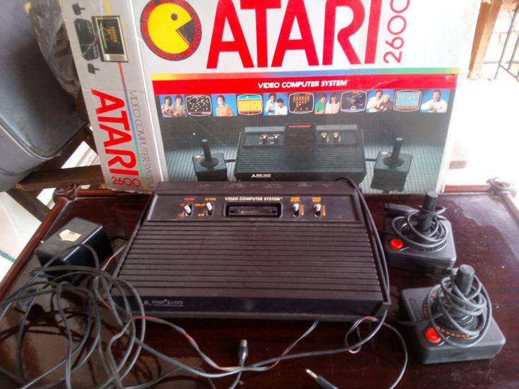 Vintage Atari CX 2600 console Darth Vader w/original box with two joysticks  #Atari