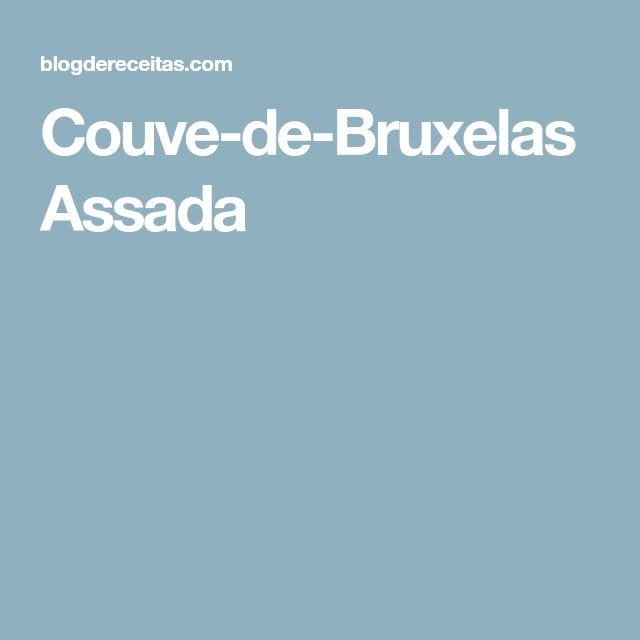 Couve-de-Bruxelas Assada