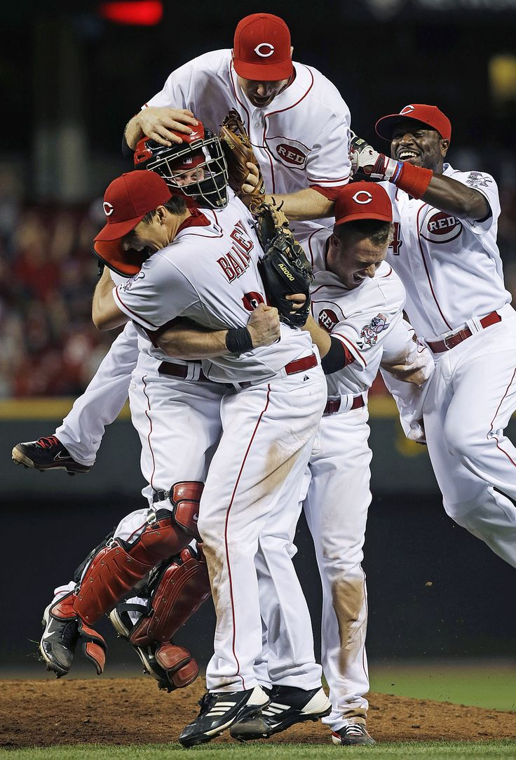 Sporting News: NO-HITTER In the first image, Cincinnati Reds...