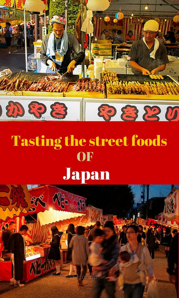 Here are some of the popular street foods of Japan called Yatai that you should be on the look out for at any of the food venues, events or locations around Japan that serve many of these popular take out foods