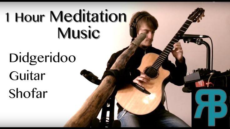 Meditation Music | 1 hour of Deep Bass Didgeridoo, Guitar & Shofar (Head...