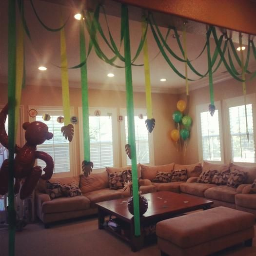 Hostess with the Mostess® - Jungle Safari Themed Baby Shower
