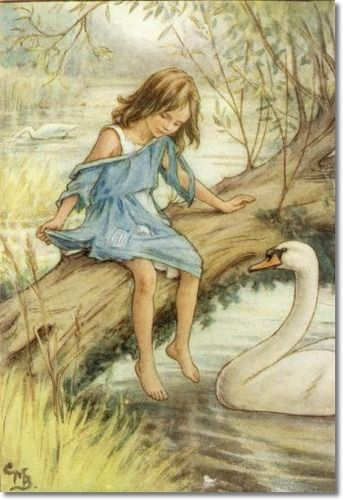 Cicely Mary Barker - The Lord of the Rushie River