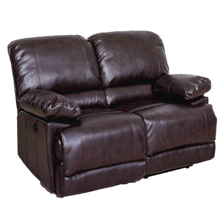 CorLiving Lea Power Reclining Loveseat With USB Port