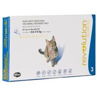 Revolution Cats 5 -15lbs (Blue) 3 Doses