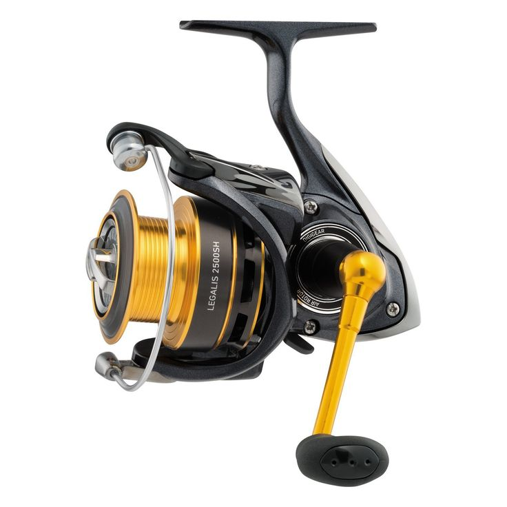 Daiwa Legalis 2000 Spinning Reel, Gold ** You can find out more details at the link of the image.