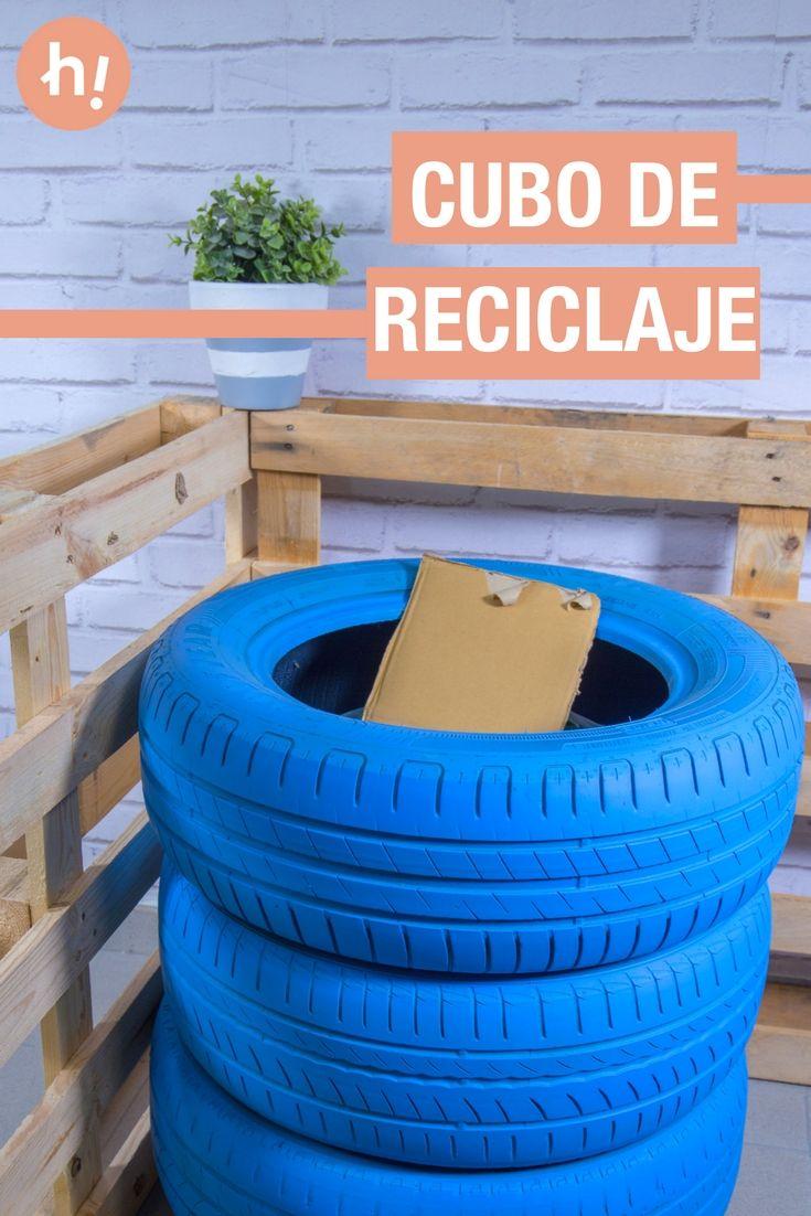 Las 25 mejores ideas sobre reciclar neum ticos en - Cubos para reciclar ...
