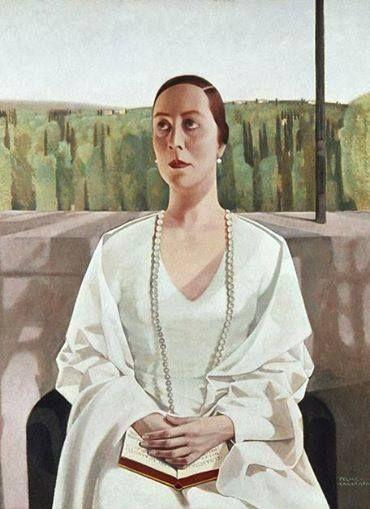Felice Casorati - La Signora Elisabeth Albrecht, 1925