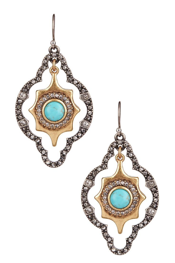 Orbital Marquise Drop Earrings on HauteLook