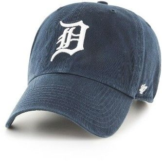 Women's '47 Clean Up Detroit Tigers Baseball Cap - Blue