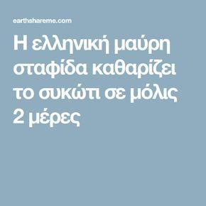 Η ελληνική μαύρη σταφίδα καθαρίζει το συκώτι σε μόλις 2 μέρες