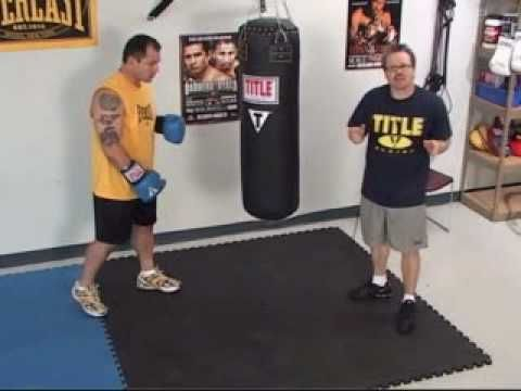 Manny Pacquiao former coach shows how to hit and work Heavybag - YouTube