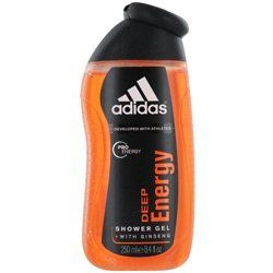 ADIDAS DEEP ENERGY by Adidas SHOWER GEL 8.4 OZ (DEVELOPED WITH ATHLETES) - 217963 by adidas. $8.99. ADIDAS DEEP ENERGY by Adidas SHOWER GEL 8.4 OZ (DEVELOPED WITH ATHLETES) for MEN. Top notes of bergamot and mandarin middle notes of cardamom and green apple basenotes of woods and musk