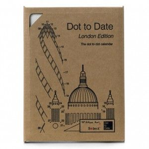 Dot to Date Calendar by Dan Usiskin at The Temporium