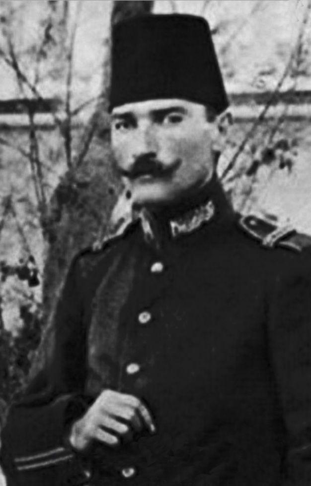 1908 Trablusgarp (Erdinç Bakla archive) MUSTAFA KEMAL ATATÜRK