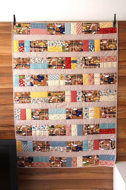 rectangles great idea for a clothes quilt, add photo transfers