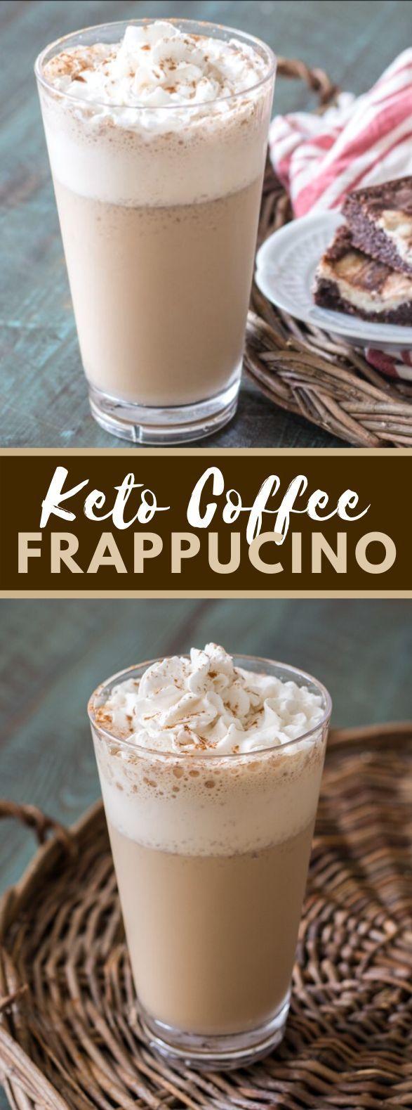 Keto Coffee Frappuccino (Starbucks Copycat) drinks