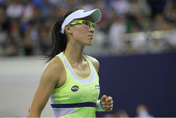 Zheng Saisai has advanced to the quarterfinal stage of the 2016 Qatar Open. (Photo : Getty Images)