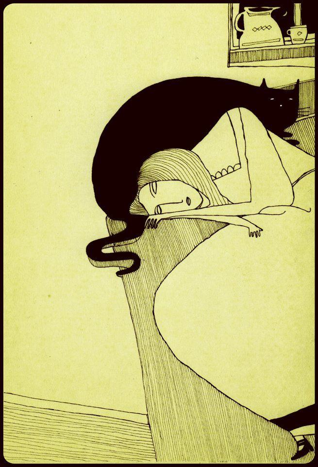Mehrdad Zaeri, Sonja sleeping
