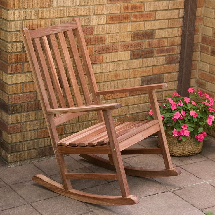 Have to have it. Belham Living Richmond Heavy-Duty Outdoor Rocking Chair - $159.98 @hayneedle