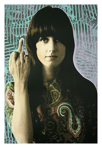 Portrait Of Grace Slick
